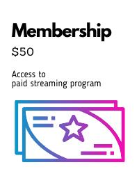 poster for 2020-21 Member $50